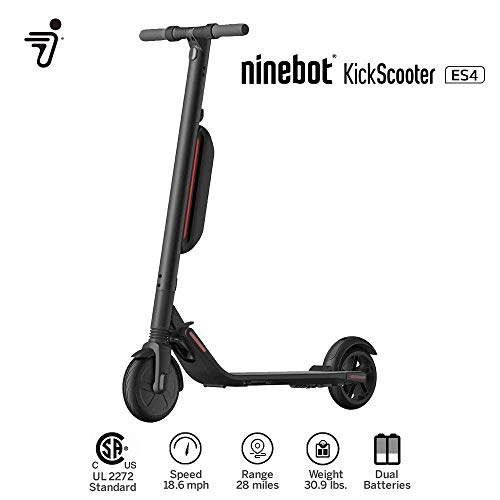 PATINETE ELÉCTRICO NINEBOT BY SEGWAY MODELO ES4 APP, 45KM BLUETOOTH