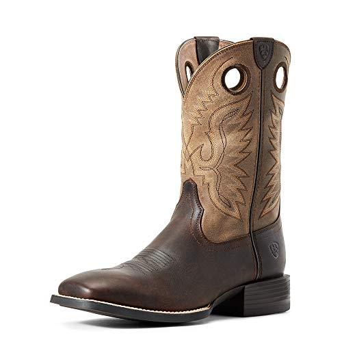 ARIAT mens Sport Ranger Western Boot, Barley Brown, 12 Wide US