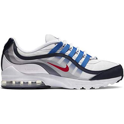 Nike Air MAX VG-R, Zapatillas para Correr Hombre, White White Game Royal Photon Dust Mtlc Silver LT Smoke Grey, 44 EU