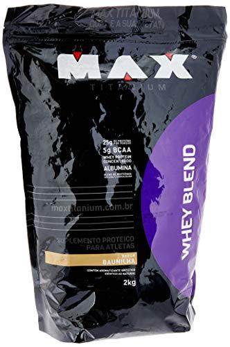 Whey Blend (2Kg), Max Titanium