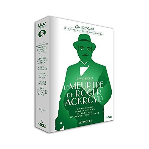 Agatha Christie : Les Grandes Affaires d'Hercule Poirot-Coffret 5 : Le Meurtre de Roger Ackroyd [DVD]