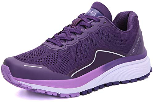 KUBUA Women's Road Running Shoes Arch Supportive Breathable...