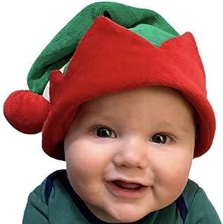 Koala Kids Baby Cute Little Elf Hat Boy Girl Red Green Velour Infant Toddler … Soft and Adorable!