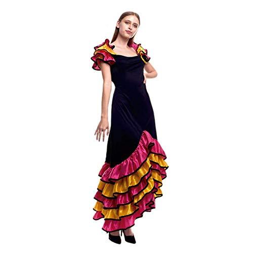 Disfraz Rumbera Folclore Mujer (Talla L) (+ Tallas) Carnaval Mundo