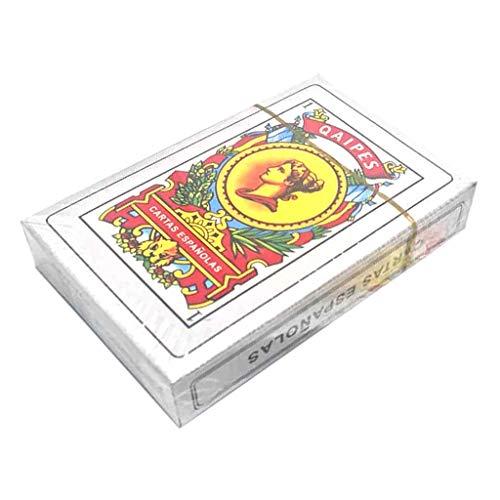 N/A/ 50 cartas de baraja española de juego de cartas de fiesta familiar juego de mesa Magic Poker Cards