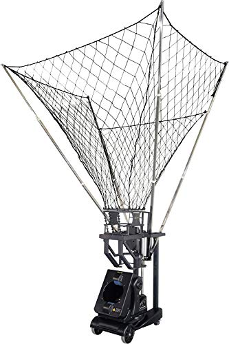 SIBOASI Sports K1800 Basketball Shooting Machine Ball Rebounder Automatic Basketball Return Guard Net Portable Basketball Training Drills Goals Trainer Equipment for Home Schools Club