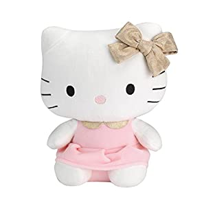 Lambs & Ivy Hello Kitty Plush, Pink/White - 41DdXuB 2GL - Lambs & Ivy Hello Kitty Plush, Pink/White