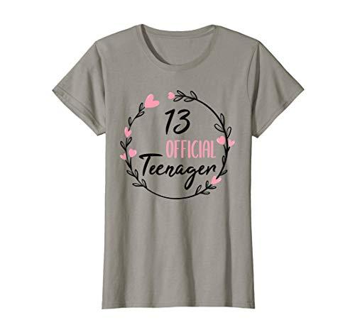 13. Geburtstag Mädchen 13 Jahre Teenager Geburtstag Geschenk T-Shirt