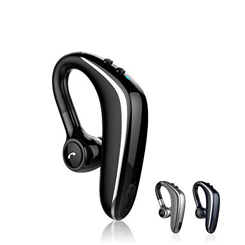 SLuB - Auricular Bluetooth inalámbrico Manos Libres con micrófono y audífonos Impermeables V5.0 para Auto, para Oficina, Conducir