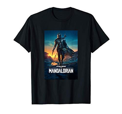Star Wars The Mandalorian Season 2 Poster Maglietta
