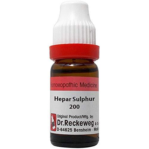 Dr. Reckeweg Germany Homeopathy Hepar Sulphur (200 CH) (11 ML) by Qualityexports