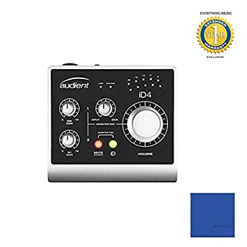 Audient iD4 USB 2-in/2-out High-Performance Audio Interface with Microfiber review