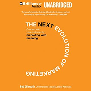 The Next Evolution of Marketing audiobook cover art