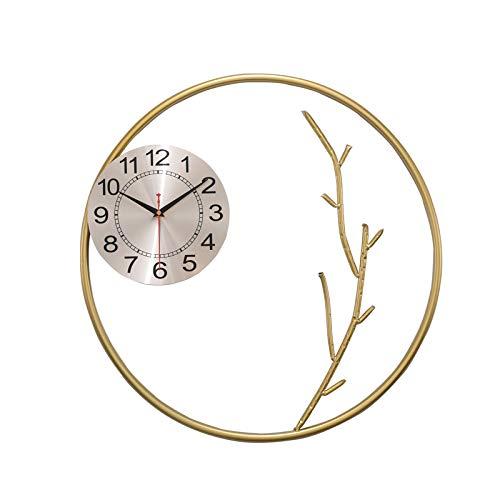 ASKI Reloj de pared Sala Porche Estudio Corredor Colgante Pared Cuarzo Reloj Dormitorio Mute