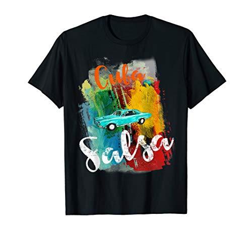 Cuba Salsa Oldtimer T-Shirt I Timba Cubana Tanzkleidung
