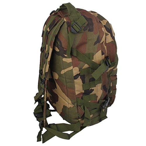 Generic Sac à Dos Tactique Etanche Voyage Camping Randonnée - 40L, Camouflage