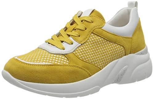 Remonte Damen D4100 Sneaker, Gelb (Gelb/Bianco/Gelb 68), 40 EU