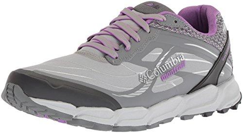 Columbia Women's CALDORADO III Outdry Trail Running Shoe, steam, Crown Jewel, 8 B US