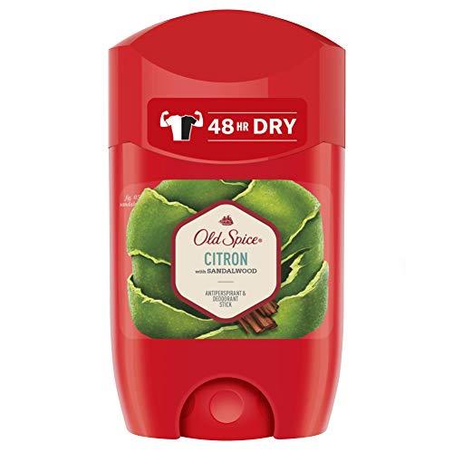 Old Spice Citron Antitranspirante Y Desodorante En Barra Para Hombres 50ml