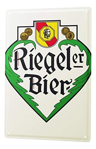 LEotiE SINCE 2004 Blechschild Brauerei Bier Küchen Deko Fürstenberg Riegeler Logo Metallschild 20X30 cm