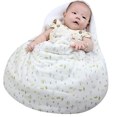 nohbi Baby-Schlafsack Strampelsack,Ei Stil Babyschlafsack, warmes Baby eingewickelte Decke,Baby Mäxchen Thermo Schlafsack