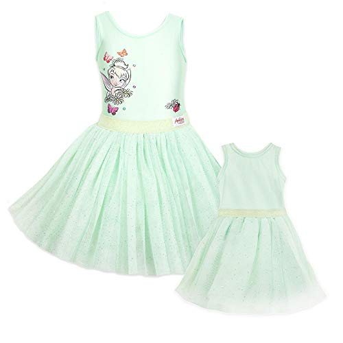 Disney Tinker Bell Leotard and Tutu Set for Kids and Doll Animators' Collection- Size 9/10