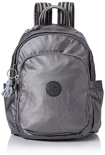 Kipling Delia Mini Women's Backpack, Black (Carbon Metallic), 22x29.5x18 Centimeters (B x H x T)