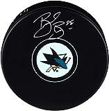 Brent Burns San Jose Sharks Autographed Hockey Puck - Autographed NHL Pucks