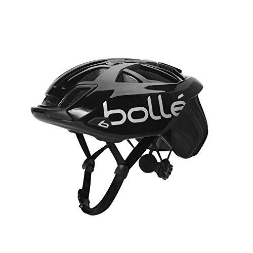 bollé Erwachsene The One Base Cycling Helmets, Black Shiny, Small 51-54 cm