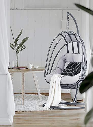 Mercury The Angles Wings Hangstoel voor woonkamer en balkon, met frame, voor volwassenen en kinderen