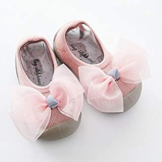 Baby Products Baby Walkers Shoes Slippers Soft Rubber Sole Glitter Baby Sock Shoe, Size:12-13cm(Green) Baby Products (Colo...
