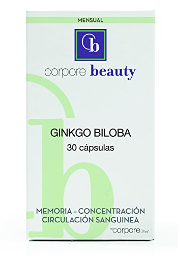 Beauty Ginkgo Biloba - 30 capsules