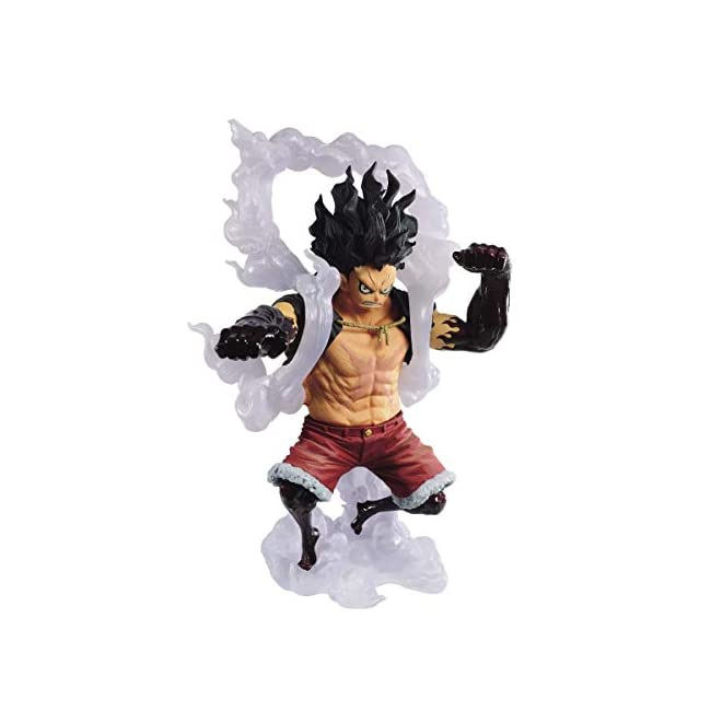 One Piece King of Artist PVC Statue Monkey D. Luffy Gear 4 Special Ver. B 14 cm