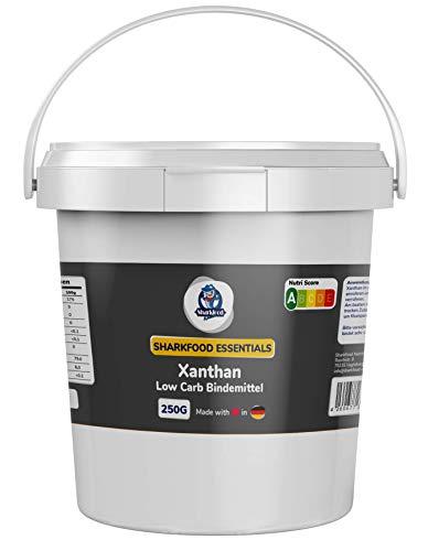 Premium Xanthan Gum Pulver 250 g | Low Carb, kalorienarm, geschmacksneutral | als Bindemittel, Verdickungsmittel, Stabilisator für Soßen, Dressings, Kochen, Kosmetik uvm | E415
