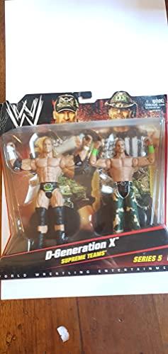 WWE - Figura de acción Supreme Teams D-Generation X Series 5 Triple H Shawn Michaels Mattel