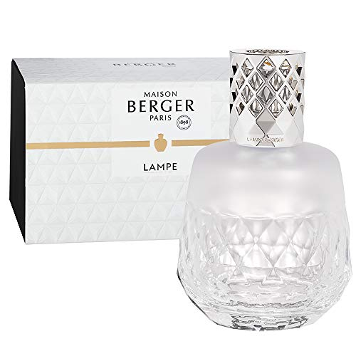 Lamp Berger CLARITY GIVREE Flacon, glas, wit, 380 ml