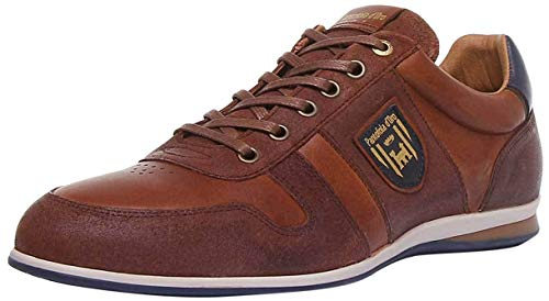 Pantofola d'Oro Herren ASIAGO Uomo Low Sneaker, Braun (Tortoise Shell.Jcu), 41 EU