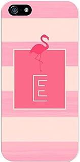 IPH5 CASE Stripes, Pink Flamingo- E