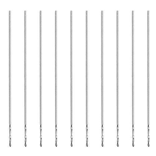 Pearl Drilling Machine Tools, K10 0.3mm Small Twist Drill Bit Set 10Pcs for Jewelry Processing
