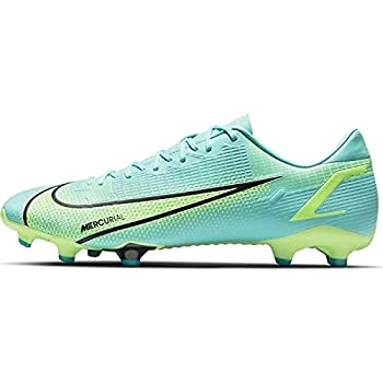 Nike Vapor Academy FG/MG CU5691-403 Mens Soccer Shoes  Dynamic Turq/Lime Glow