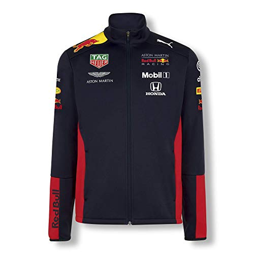 Red Bull Racing Official Teamline Chaqueta Softshell, Hombres Medium -