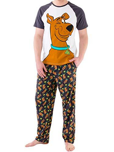 Scooby Doo Herren Schlafanzug Mehrfarbig Medium
