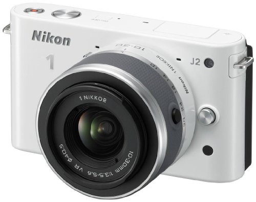 Nikon 1 J2 + NIKKOR VR 10-30mm MILC 10.1MP CMOS 3872 x 2592Pixeles Blanco - Cámara Digital (10,1 MP, 3872 x 2592 Pixeles, CMOS, Full HD, 237 g, Blanco)