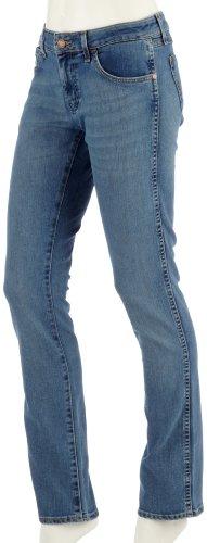 Wrangler - Jeans - Slim - Donna Blau 28W x 32L