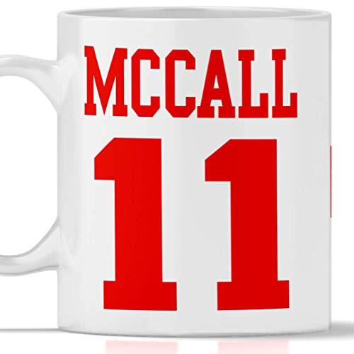 Tazza McCall 11 Beacon Hills - Lacrosse. Adatta per Colazione, The, tisana, caffè, Cappuccino. Gadget Mug McCall 11 Tributo Serie TV Teen Wolf. Anche Come Idea Regalo Originale e Simpatica