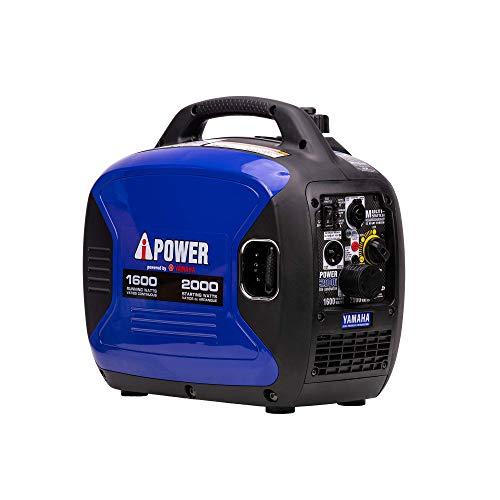 A-iPower SC2000iV 2000-Watt Yamaha Engine Portable Inverter Generator, Blue