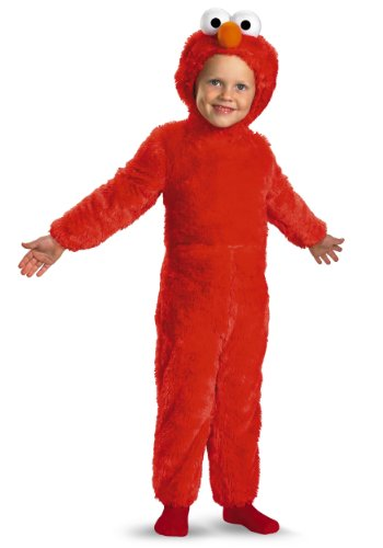 Disguise Toddler Furry Elmo Costume 3T/4T