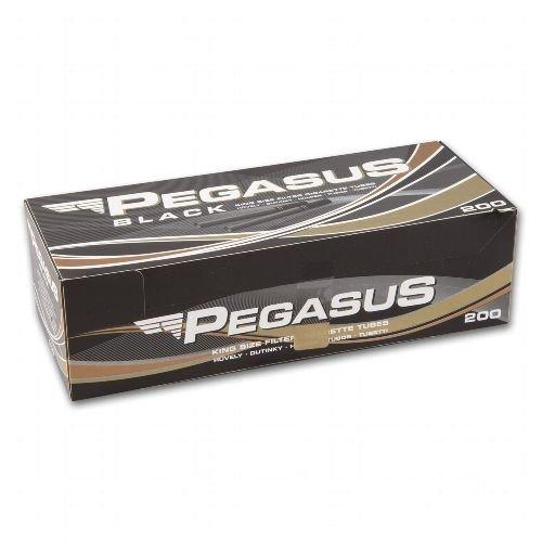 Zigarettenhülsen Pegasus Black King Size 200 Stück