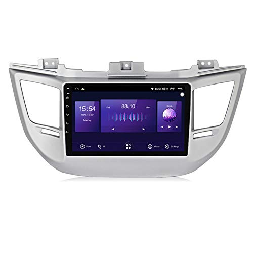 YLCCC Auto Stereo SAT navigatore Adatto per Hyundai Tucson 2014-2018 GPS Stereo Head unità Capacitivo Touch HD Carplay Radio Multimedia Built-in Built-in System System Tracker,8Core 4G+WiFi:4+64G