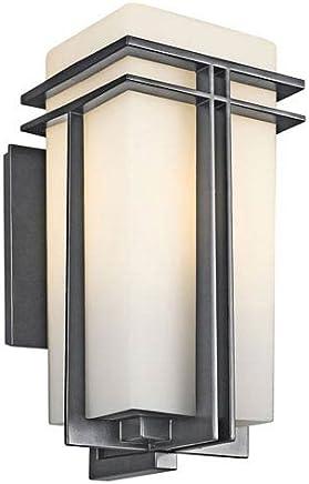 Tremillo 屋外用ランタン ブラック サイズ/電球タイプ: 高さ17.2インチ x 幅8.5インチ x 奥行き9.7インチ 白熱灯